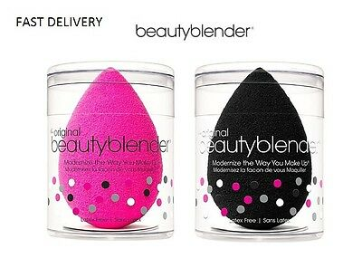 UK Offers ON Beauty Blender Flawless Sponges Foundation Puff Black and white
