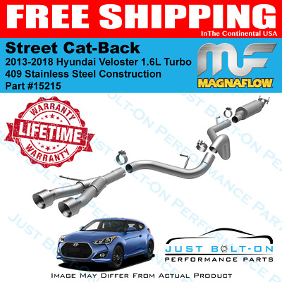 Magnaflow Cat-Back Exhaust System Fits 2013-2018 Hyundai Veloster Turbo 15215