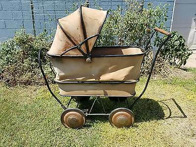 Vintage Baby Buggy Carriage Stroller  Good Condition