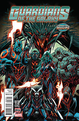 Guardians Of The Galaxy #8 Age Of Apocalypse Variant Marvel Comics