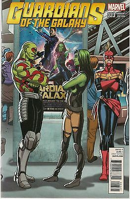 Guardians Of The Galaxy #23 Welcome Home 1:20 Variant Marvel Comics