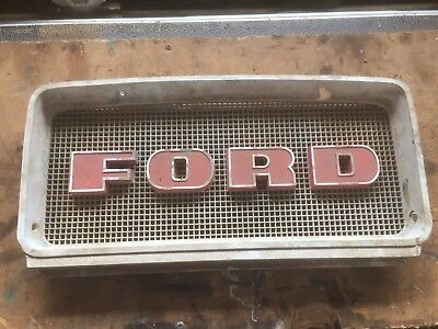 Ford Tractor Original Top Nosecone Grill