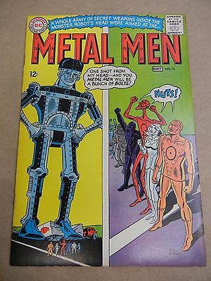 Dc Comics Metal Men #15 1965 - Solid Copy - Free Shipping!!