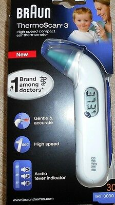 Braun IRT 3030 ThermoScan 3 Fieberthermometer