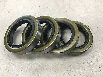 Qty 4 10-19 171255TB Double Lip Seals for 3500lb Trailer Axles Free Shipping!