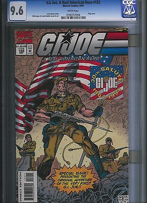 G.I. Joe, A Real American Hero # 152  CGC 9.6  White Pages. UnRestored.
