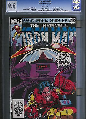 Iron Man # 169 CGC 9.8  White Pages. UnRestored.