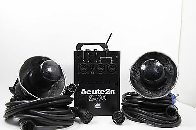 Profoto Acute 2400R 2 Head Kit With 2 Head Extensions