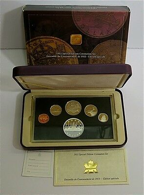 Royal Canadian Mint Special Edition Set of the 50th Anniversary of Coronation