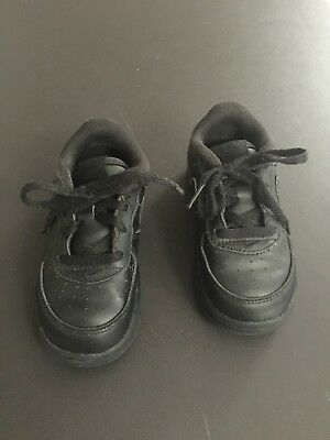 Nike Black Lace Toddler Sneakers Size:  8C