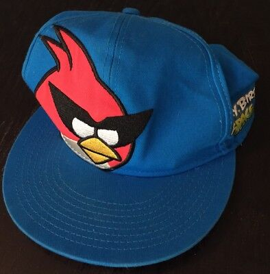 Angry Birds Space Cap One Size Snapback Flatbill Hat