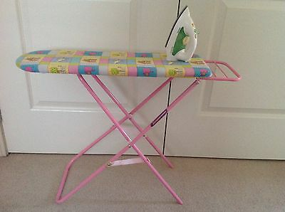 Childs Ironing Board And Iron - Must See