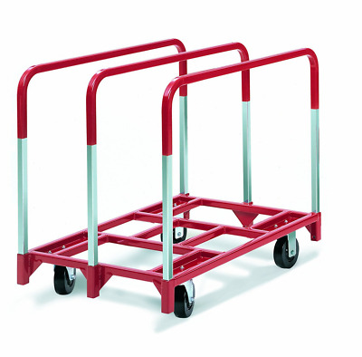 "Raymond 3850 Steel Panel Mover with 3 Standard Upright and 5"" x 2"" Phenolic Cast"