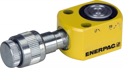 Enerpac RSM-50 Flat Jac Single-Acting Low-Height Hydraulic Cylinder with 5-Ton C