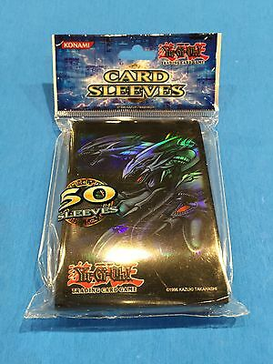 Yu-Gi-Oh ( BLUE-EYES ULTIMATE DRAGON ) 50 Card Sleeves - Official Konami Product