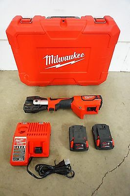 Milwaukee Force Logic Cable Cutter NEW 2672-21 (M18) Case, Charger & 2 Batteries