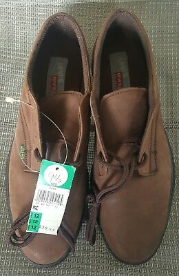 Brand New Levi's Oxfords Casual Shoes Suede Brown Men's Size 9.5