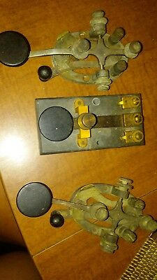 western union telegraph.3 strap keys