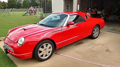 2002 Ford Thunderbird Base Convertible 2-Door 2002 FORD TUNDERBIRD