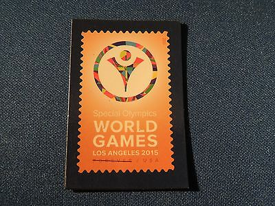 USPS Promo Forever Stamp Magnet Special Olympics World Games 2015 Series USA