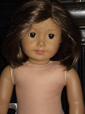 American Girl doll- short brown hair & brown eyes- w/ clothes no reserve