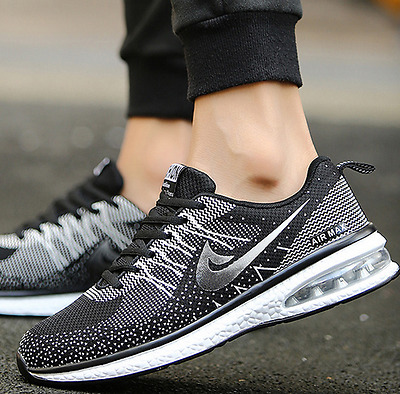 2017 Fashion Men's Running Breathable Sports Casual Athletic Sneakers Shoes