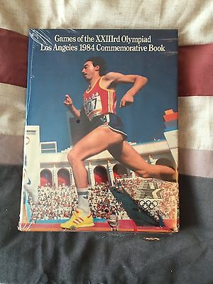 GAMES OF THE XXIIIrd OLYMPIAD LOS ANGELES 1984 COMMEMORATIVE BOOK 23rd OLYMPIC