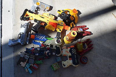 A Mega Bulk lot of Kids boys toys nerf gun magaman most have batteries installed