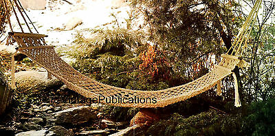 Macrame Hammock Pattern .. Garden Home Decor .. Decorative Macrame .. COPY