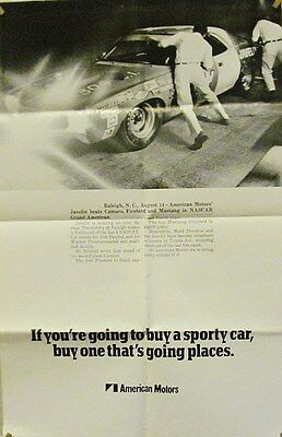 1970 Javelin Nascar Grand-Am Racing Poster
