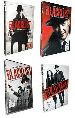 The Blacklist: The Complete Seasons 1-4 (DVD, 2017, 20-Disc Set) 1 2 3 4