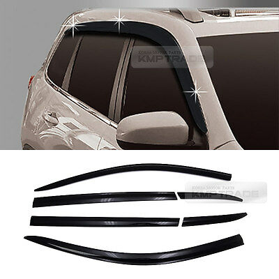 Smoke Window Sun Vent Visor Rain Guards 6P D733 For JEEP 2015-2017 Cherokee