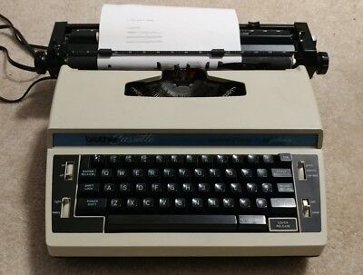 Electric Typewriter ~ Brother Cassette Correction L10 Plus 3 ~ WORKS