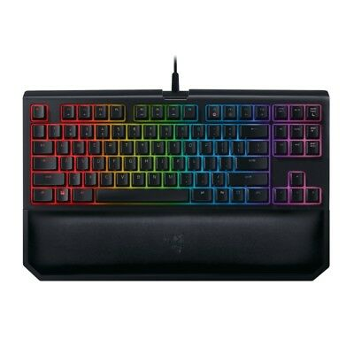Razer BlackWidow Tournament Edition Chroma V2 Gaming Keyboard Yellow Switches TS