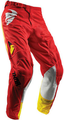 Thor S8 Youth Pulse Air Radiate Pants Red 24 Pulse Air 2903-1576