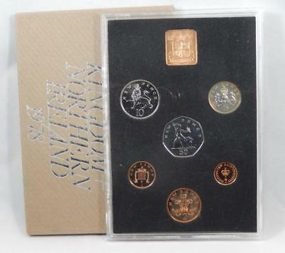 Great Britain 1978 6 Coin Proof Set United Kingdom + Northern Ireland UK CB212