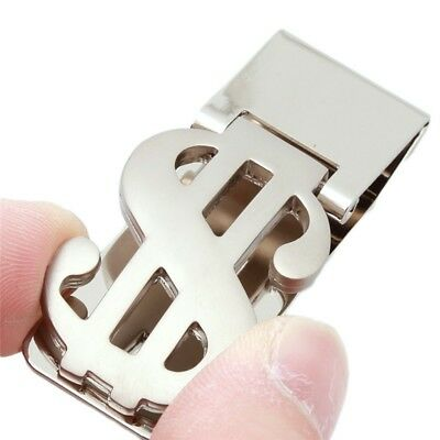 Money Clip $$ Clip Stylish Stainless Steel Slim Money Clip