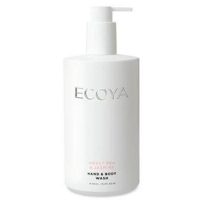 NEW Ecoya Sweet Pea & Jasmine Hand & Body Wash