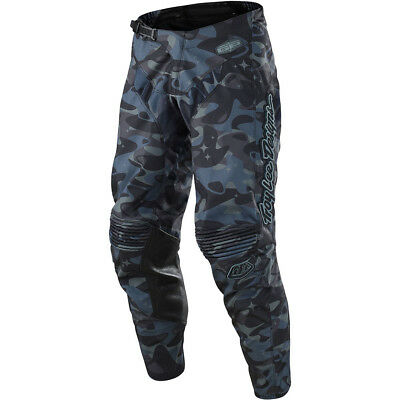 Troy Lee Designs NEW Mx 2018 GP Cosmic Camo Grey Motocross Dirt Bike Pants