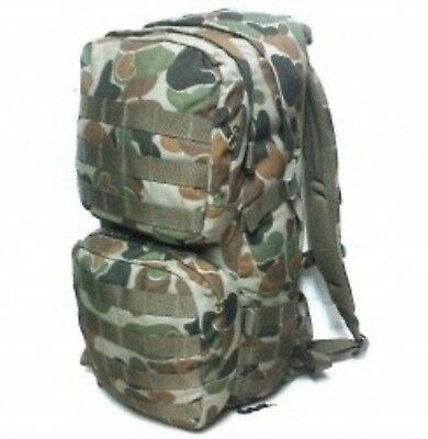 Tas Combat Auscam 22Lt Backpack Molle - 900D Double Pu Coated #free 2Lt Bladder