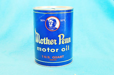 Mother Penn Motor Oil Quart Bank - Dryer, Clark & Dryer Oil Company
