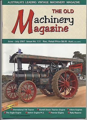 The Old Machinery Magazine TOMM  issue 131 June-July 2007