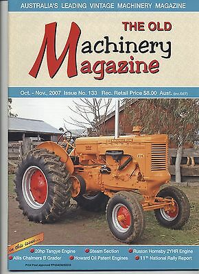 The Old Machinery Magazine TOMM  issue 133 October-November 2007