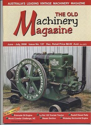 The Old Machinery Magazine TOMM  issue 137 June-July 2008