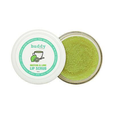 Natural Matcha & Lime Lip Scrub Buddy Scrub lip care skin lip gloss Made In Aus