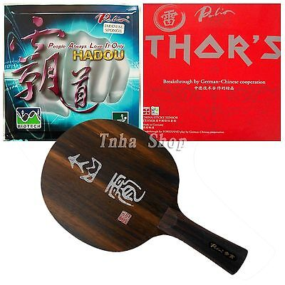 Pro Combo Racket Palio CHIXIAO with HADOU BIOTECH and THOR'S Rubbers