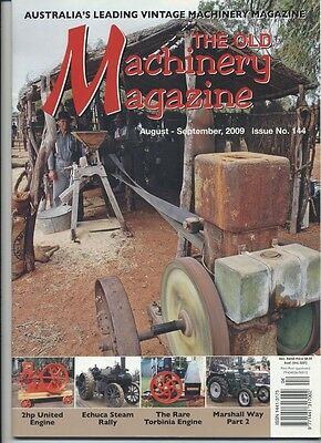The Old Machinery Magazine TOMM  issue 144 August-September 2009
