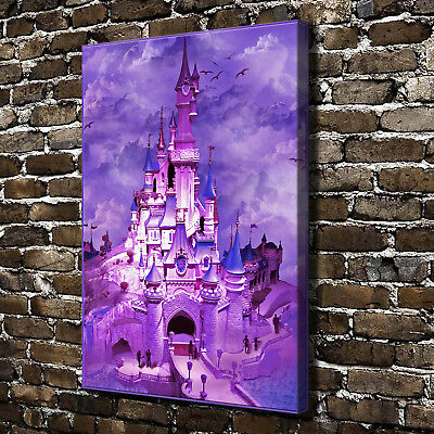 """The Disney castle HD Canvas Print 18""""x24"""" Home Decor Paintings Wall Art Pictures"""