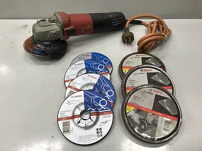Milwaukee AG 11-125 1100W 125mm Angle Grinder With Extras