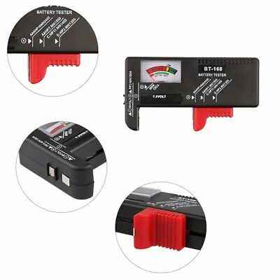New AA/AAA/C/D/9V/1.5V Universal Button Cell Battery Volt Tester Checker BT-168